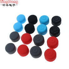TingDong Silicone Thumb Stick Grip Caps Gamepad Analog Joystick Cover Case For Switch NS NX Controller Extender Joy-Con(China)