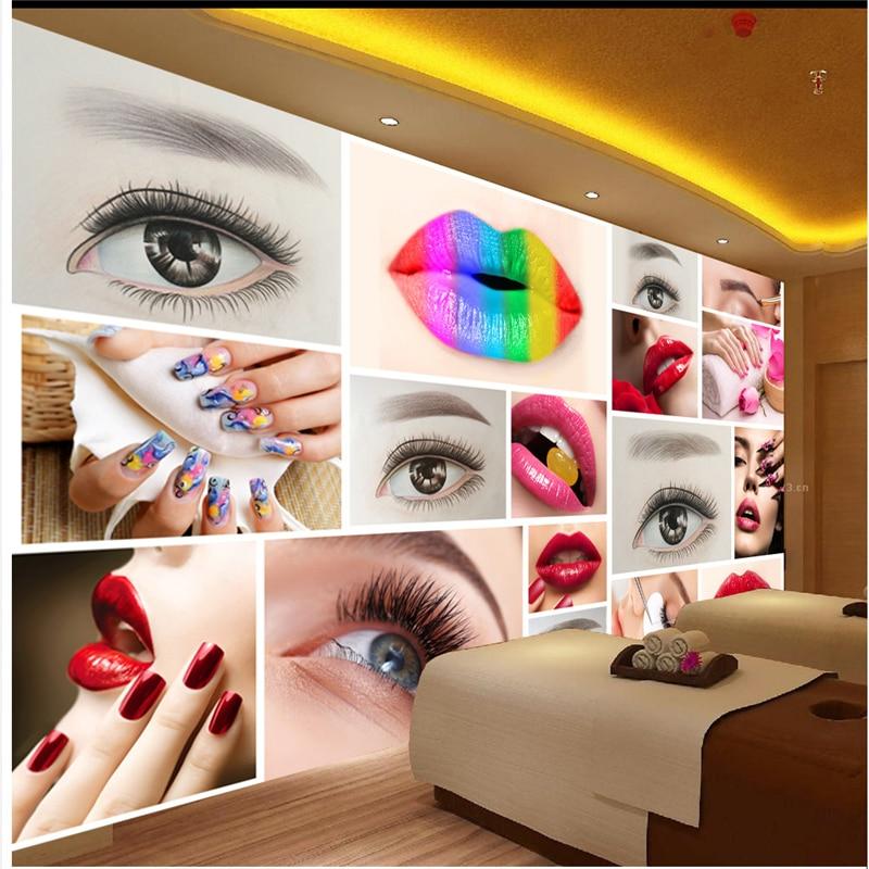 Beibehang Custom Any Size Wallpaper Mural Fashion Beauty