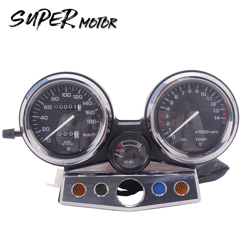 Instrument assembly gauges meter cluster speedometer odometer tachometer for Honda CB400 1995 1996 1997 1998 CB 400 95 - 98 New free shipping motorcycle accessories modified for honda cb400 1992 1998 vtec 99 07 new high water pump assembly