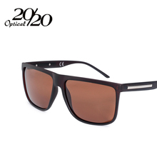 20/20 Brand Fashion Black Sunglasses Men Polarized Driving Sun Glasses Fashion Male Oculos Gafas Eyewear PL207