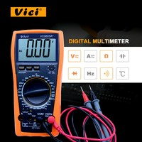 High presion Digital Multimeter full protection measure inductance frequency temperature electro VC9805A+ with high quality