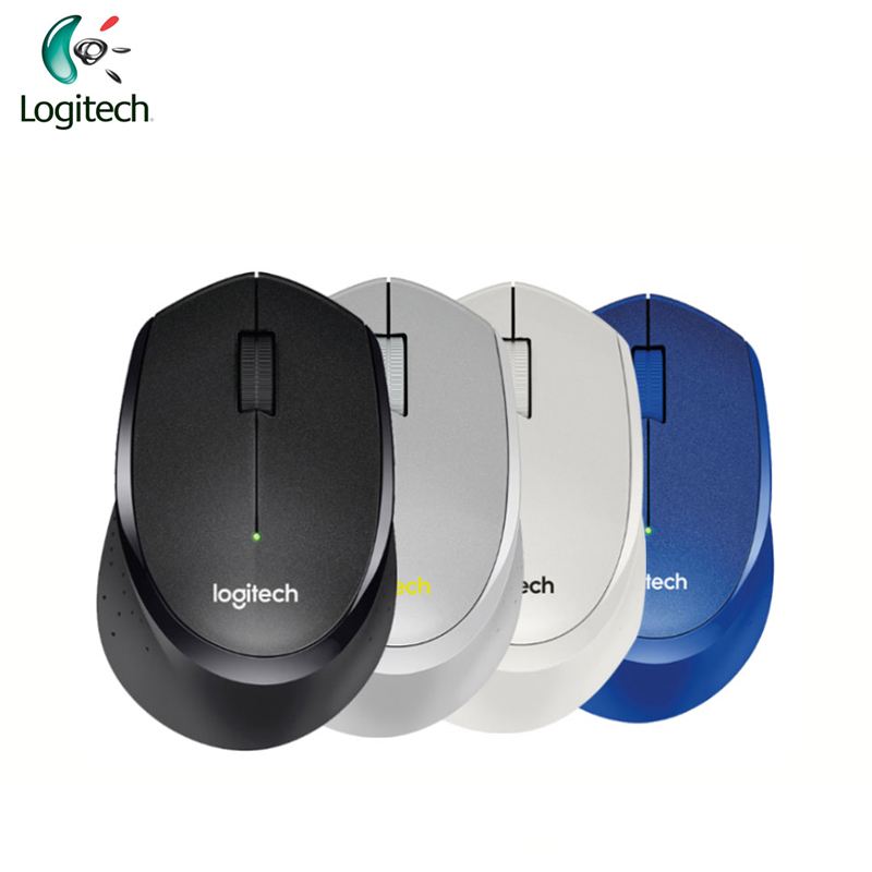 Logitech M330 Two-Way Roller Wireless Mouse with USB None Receiver Support Official Test for Windows 10/8/7 Mac OS logitech m570 2 4g wireless gaming mouse optical trackball ergonomic mouse gamer for windows 10 8 7 mac os support official test