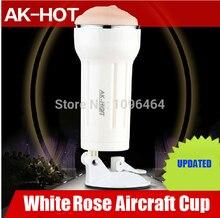 AK-HOT Vibrating Flashlight Realistic Pussy Masturbators 4*9cm Hands-free Spree Japanese Motor 12000rmp / Per Minute USB Charge