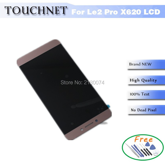 Full high definition display lcd com digitador da tela de toque para letv leeco le 2 le2 pro x620 smartphone
