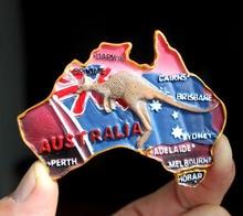 Creative Australian resin refrigerator stickers