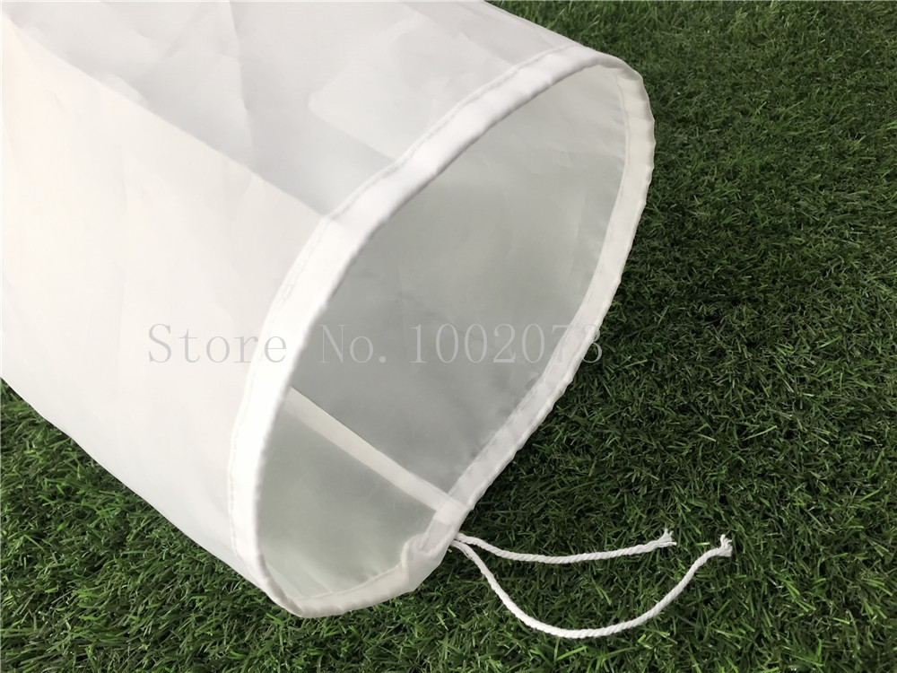 Free Shiping 3045cm Large food grade Nylon filter bag for home brew beer rice wine juice soybean milk tea Coffee Filter Bag (5)