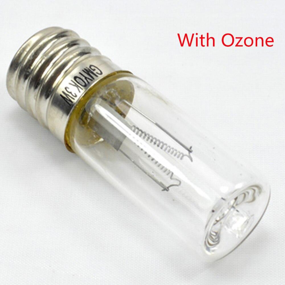 New E17 Quartz Tube UVC Screw Disinfection For Domestic Use Lamp Germicidal Home Ultraviolet Sterilization Mites Ozone #63