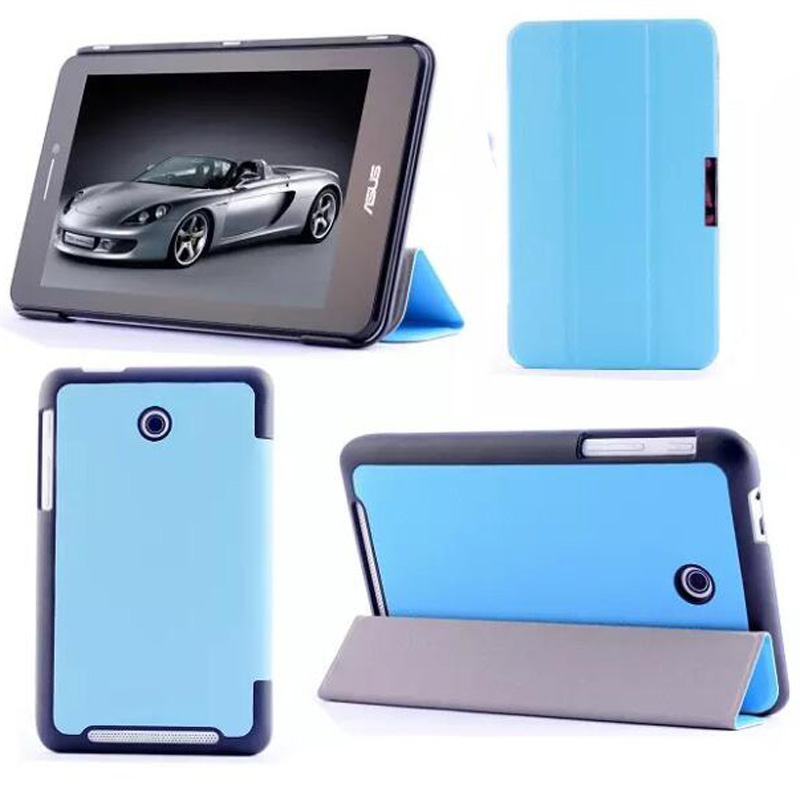 Ultra Slim Luxury Magnetic Folio Stand Leather Case Smart Cover For ASUS MeMO Pad HD 7 ME175CG ME175KG ME7510KG K00S K00Z 7 beautiful gitf new luxury stand case cover for asus memo pad 7 me176c me176cx tablet wholesale price jan16