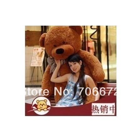New stuffed dark brown teddy bear Plush 120 cm Doll 47 inch Toy gift wb8467 stuffed animal 180cm dark brown teddy bear plush toy soft doll throw pillow gift w2064