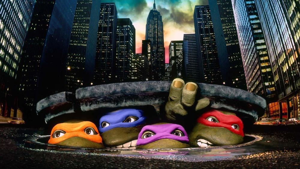 Teenage Mutant Ninja Turtles Sewer Lid Cityscape super city skyline Street backdrop Vinyl cloth Computer printed wall backdrop nikko машина nissan skyline gtr r34 street warriors 1 10 901584 в перми