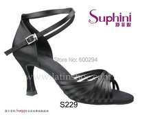 Free Shipping 2017 Suphini Fine Satin Latin Salsa Shoe Lady Salsa Shoes Woman Dance Shoes Latin Dance Shoes