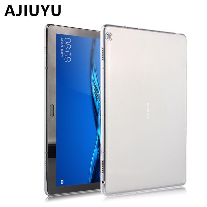 Cas M3 lite 10 TPU Pour HUAWEI Mediapad M3 Lite 10.0 10.1 2017New Silicone Cas En Cuir BAH-W09 BAH-AL00 Tablet Cove De Protection