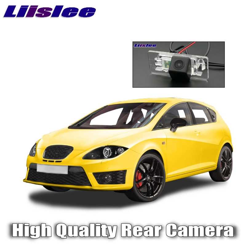 Liislee Car Rear Camera For SEAT Leon 2009~2012 High Quality  Rear View Back Up WaterProof CCD Night Vision View Car Camera