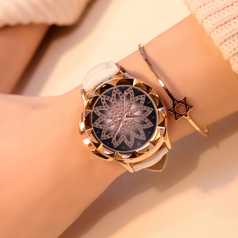 Luxury Rose Gold Women Watch -  Fashion Casual  Female Watch 1