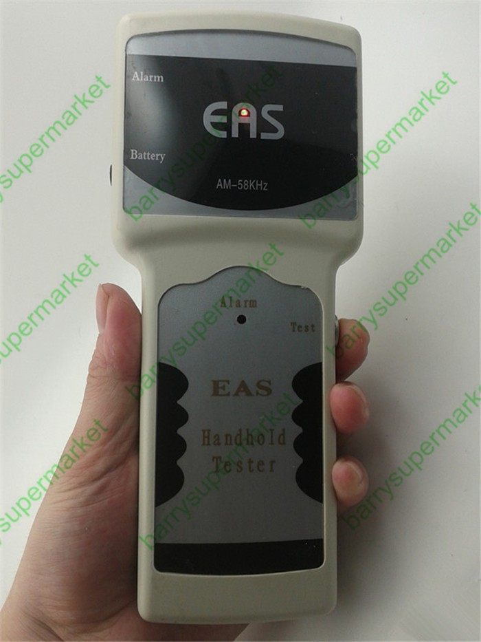 Acoustic handheld detector magnetic EAS anti-theft tag detector 58KHz frequency detector alarm detector