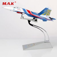 1:72 Aircraft Toys Su 27 Heavy Fighter Russia Flag Russian Knights Performance Airplane Model Toys for Boys Birthday Gift