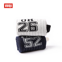 VVQI Funny Socks Men Novelty Japanese Style Cotton Socks Digital NO 10 Street Skateboard Personality Hip