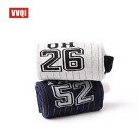 VVQI Funny Socks Men Novelty Japanese Style Cotton Socks Digital NO 10 Street Skateboard Personality Hip