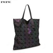 DVODVO 2017 Leucht Frauen Bao Bao Tasche High-end Geometrische Handtaschen Plaid Schulter Diamantgitter BaoBao Damen Messenger Bags