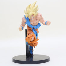 Dragon Ball Z Son Goku Super Salto 50th Anniversary Figura de Ação PVC Figures Modelo Toy 20 cm(China)