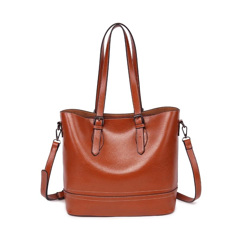 Retro PU Leather Women Bags Hight Quality Handbags Bag For Women 2019 Shoulder Bag Sac Main Femme Sac Main Femme(China)