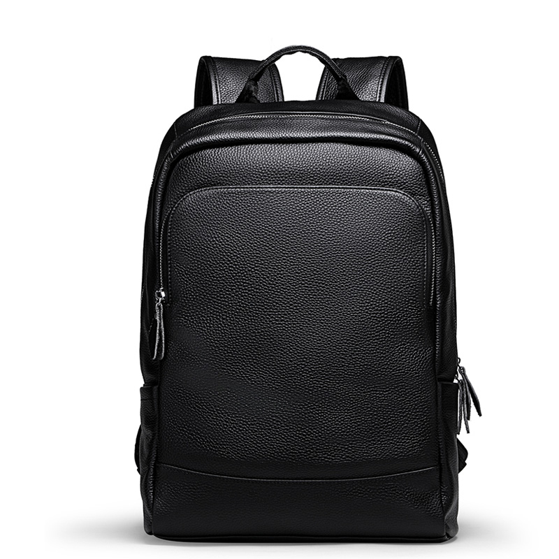 Luxury Brand Men s Backpack High Quality 100 Genuine Leather Backpack Male Real Natural Leather Fashion