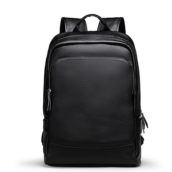Luxury Brand Men's Backpack High Quality 100% Genuine Leather Backpack Male Real Natural Leather Fashion Travel Computer Bag
