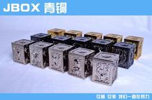 MODEL FANS Jacksdo saint seiya Bronze Saint Cloth Myth Cloth Box bronze black gold color