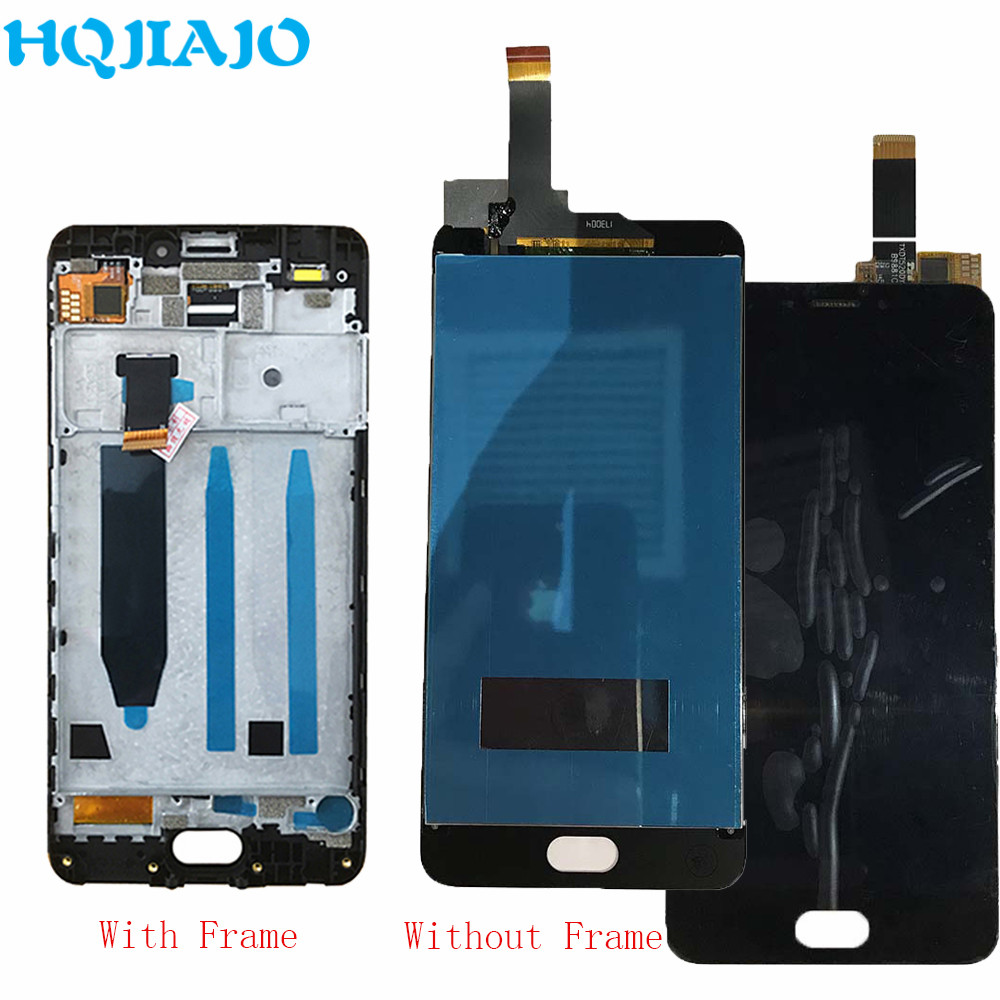 For Meizu M6 Touch Screen Digitizer + LCD Display Frame For Meizu M6 M711H M711M M711Q Assembly 5.2 Cellphone Black White IPSFor Meizu M6 Touch Screen Digitizer + LCD Display Frame For Meizu M6 M711H M711M M711Q Assembly 5.2 Cellphone Black White IPS