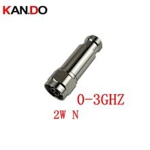 2 W DC 3Ghz RF attenuator N ชาย N หญิง DC 3Ghz 1 30DB ตัวเลือกการลดทอน feeder connector COAXIAL แจ็ค 2 W power Attenuator