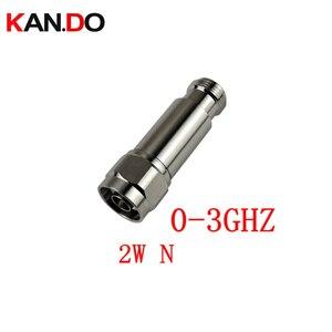 Image 1 - 2 W DC 3Ghz atenuador de RF N macho para fêmea N DC 3Ghz 1 30DB opção atenuação alimentador conector COAXIAL jack 2 W poder Atenuador