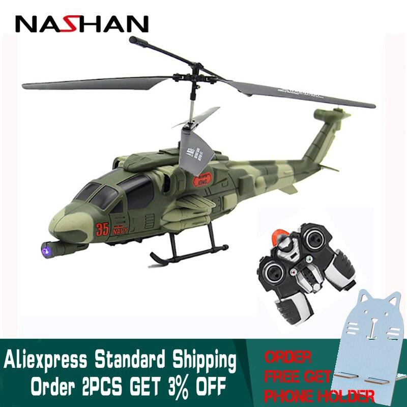 Drone I / R Quadcopter RC Helikopter 3.5CH Kanaler RC Mini Helikopter Med Gyro Fjärrkontrollerad Uppladdningsbar För Pojkar Barn Present