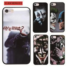 Batman cover clown case hard plastic for Apple iphone4 4s 55sSE 5c 6 6S 6PLUS 7 7PLUS X 8 8PLUS Protective shell