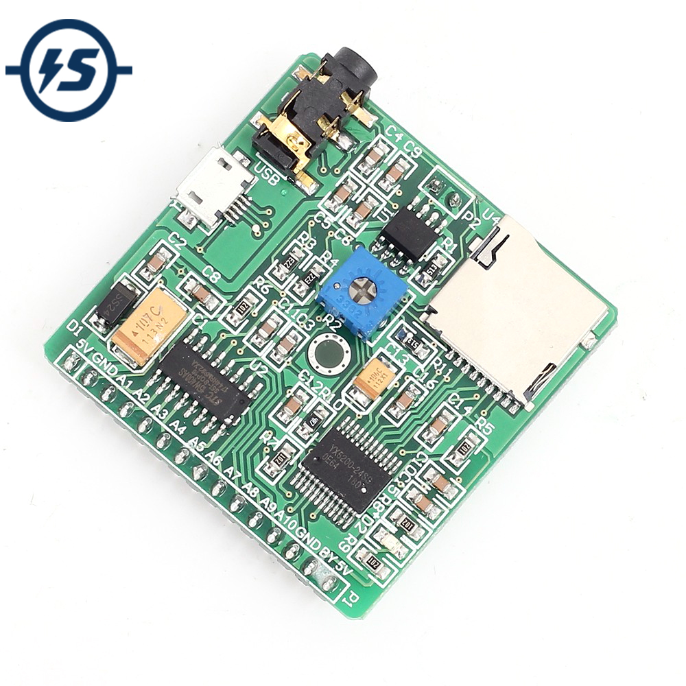 NEW Voice Playback Module MP3 Music Player Development Board For Arduino