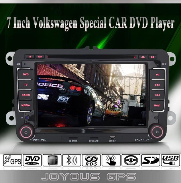 Passat/Jetta/Golf/Tiguan/Turan/Polo/Bora/Caddy Auto DVD Player+GPS Navigation+FM/AM Radio+RDS+BT+IPOD+Steering Wheel Control