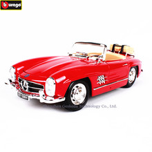 Bburago 1:18 1954 Mercedes 300SL Alloy Retro Car Model Classic Car Model Car Decoration Collection gift(China)