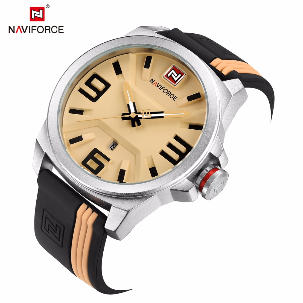 font b Naviforce b font Top Brand font b fashion b font Sport watch horloges
