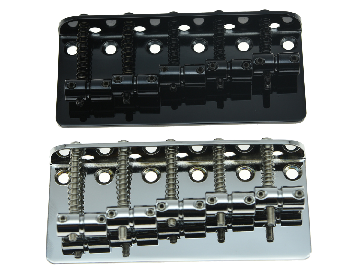 KAISH 5 String Electric J Bass or P Bass Bridge for Jazz or Precision Bass Guitar 2 Colors black closed j bass neck bridge pickup bass pickups set for 4 string jazz bass
