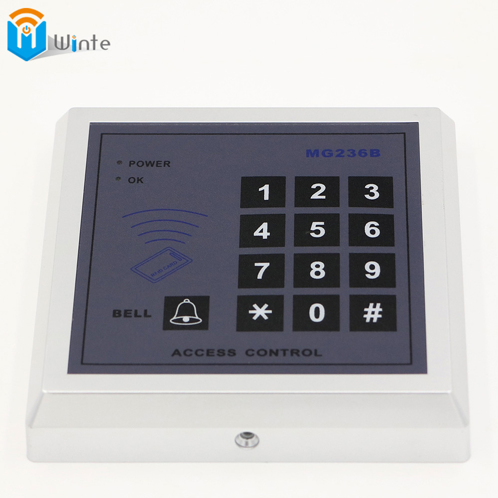 RFID Card Reader Access Control 500 Users Entry System Door Lock  Security Proximity Quality Electronic Entry Door Lock Keyboard