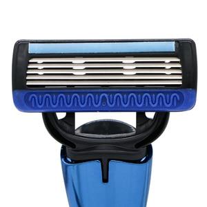 Image 2 - HAWARD かみそり 20 カートリッジ 5 層交換カミソリギフトカミソリハンドル使用男性のシェービングと女性の脱毛