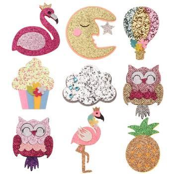 18 pièces Boutique cheveux accessoires hibou lune chapeaux accessoires bricolage cheveux fleur pas de Barrette à cheveux