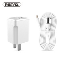 Wholesale Remax Portable USB Charger US Mobile Phone Charger Adapter Charger USB Cable for iphone Samsung xiaomi Huawei Type-C