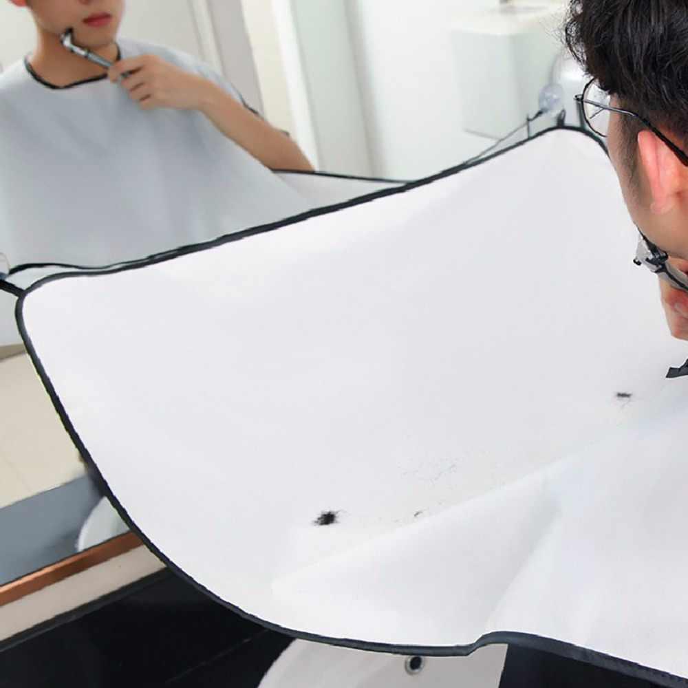 理髪岬男性のシェービング布新エプロン顔の毛キャッチャートリミング岬シンクホームサロンツール男性シェービング布 #40