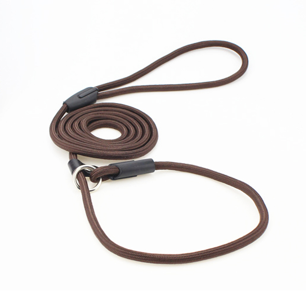 Integrated Design Leash Lead Thick Buckle Durable Nylon Wear-resistant Running Dog Rope Adjustable Walking Pets Accessoies S-L