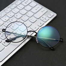 VKUES Computer Glasses Anti Blue Light Radiation Blocking Filter Clear Lens Vintage Round Decorative New 2019