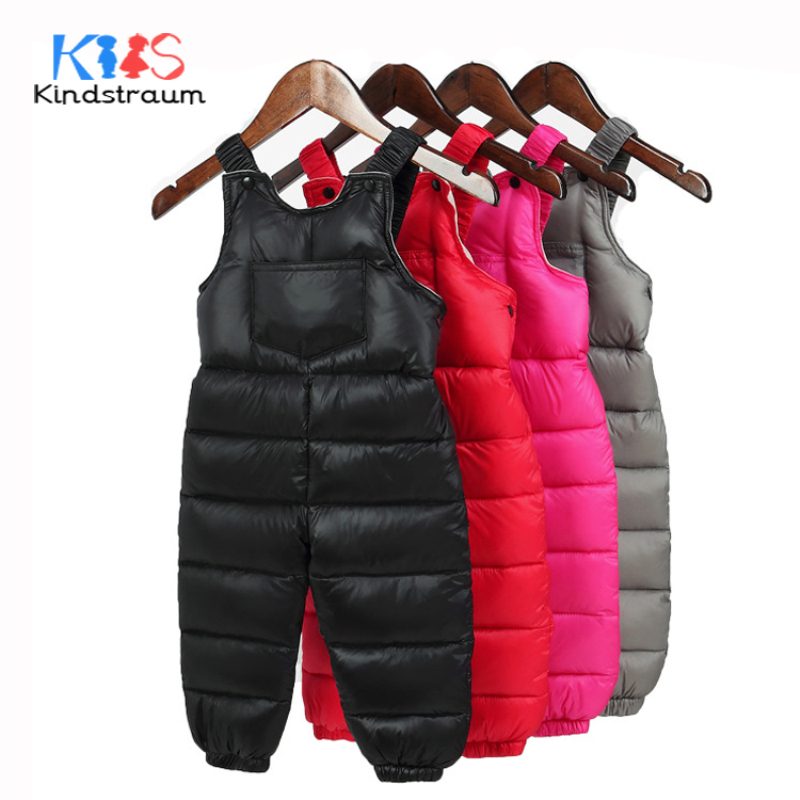 Kindstraum Baby Down Rompers for Russia Winter Toddler Kids Warm Overall Trousers Duck Down Boys Girls Jumpsuit Waterproof,MC888 kindstraum baby down rompers for russia winter toddler kids warm overall trousers duck down boys girls jumpsuit waterproof mc888