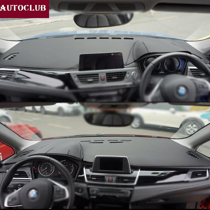 For BMW 1 2 Series F45/F46 F20/F21 F52  F22/F23 116i 118i 218i 220i Leather Dashmat Dashboard Cover Pad Dash Mat Sunshade Carpet