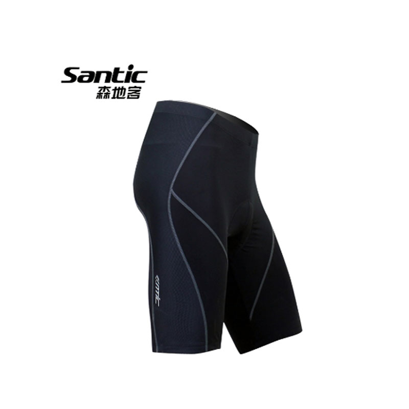Santic 2017 Mens font b Cycling b font Shorts Summer Anti UV 4D Padded MTB Road