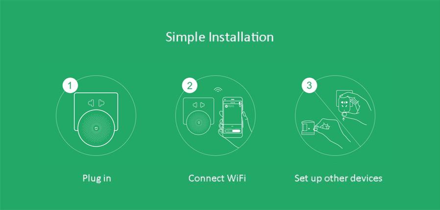 xiaomi mijia 6 in 1 elegant sicherheitsset gateway 2 wifi schalter zigbee sensor ebay. Black Bedroom Furniture Sets. Home Design Ideas