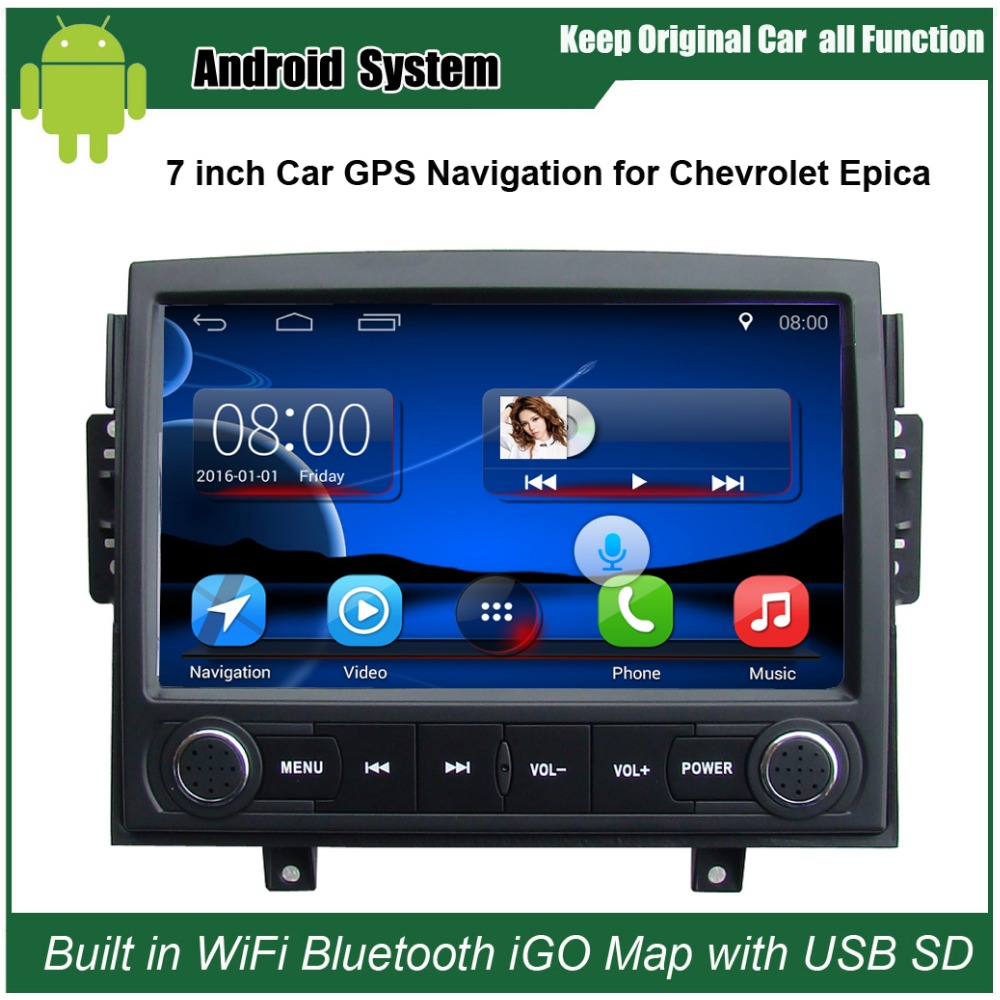 Upgraded original android car radio player suit to chevrolet epica 2006 2010 car video player